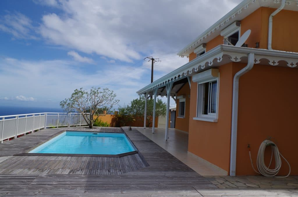 villa en martinique au Diamant
