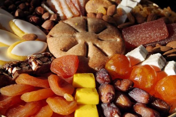photo des 13 desserts provençaux