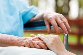 personnes âgées soignées en maison de retraite médicalisée