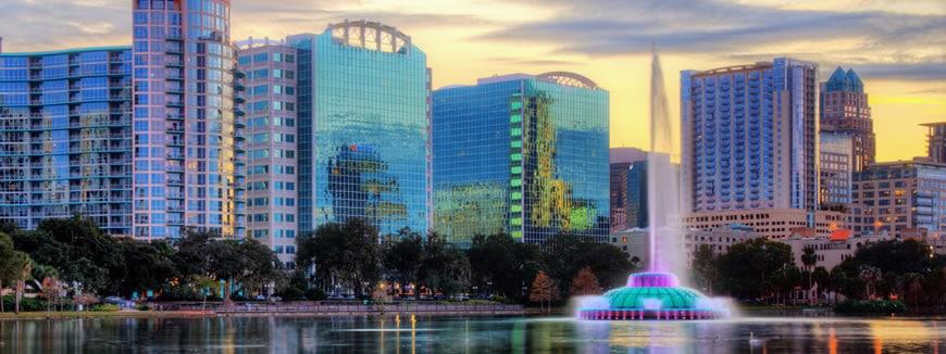 la ville d'Orlando est devenue la capitale économique de la Floride