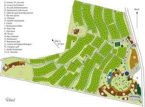 plan d'un village retraite pour personnes autonomes