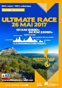 utlimate race marseille frendo 2017, l'ultra trail de provence